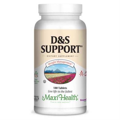 -- D&S Support לסיוע בירידה במשקל -- מכיל 180 טבליות