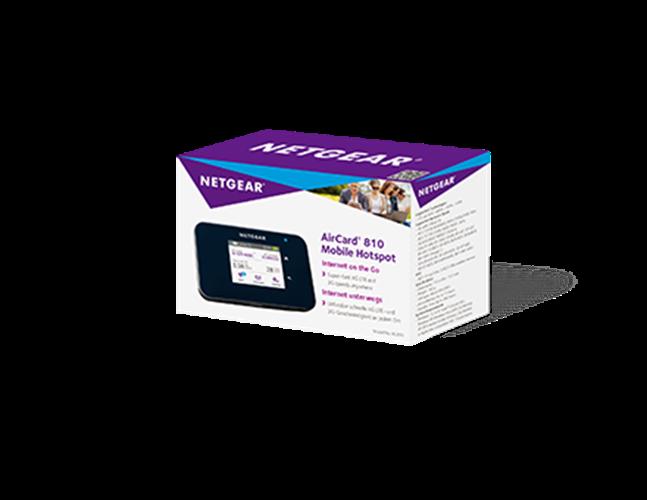 נתב / ראוטר נייד Netgear AirCard 810 Mobile Hotspot AC810 Wi-Fi 4G LTE 600Mbps