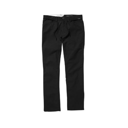 VOLCOM VSM GRITTER MODERN PANTS - BLACK