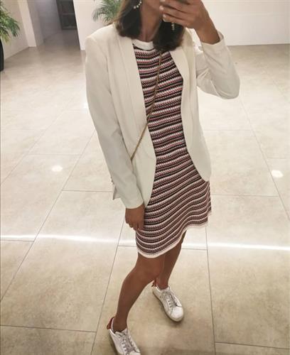 שמלת רנה אריג פריזאית