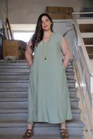 שמלת רובי ירוק