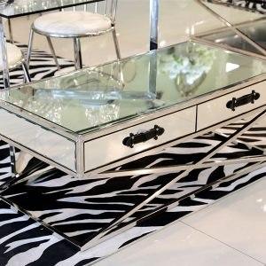שולחן סלון מלבני רסיטל רגליים נירוסטה מפתח הפריט: 195388 מידות: 120X60X45