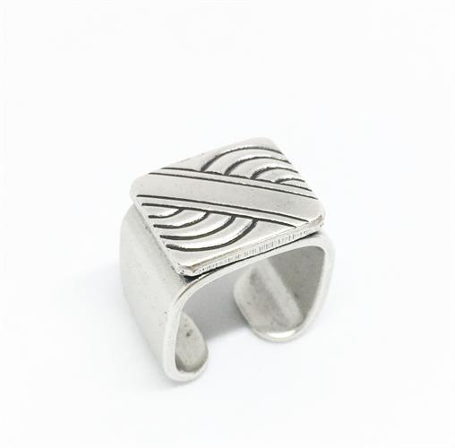 טבעת חפת גל כסף