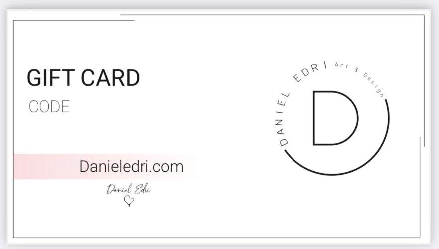 400₪ GIFT CARD- DANIEL EDRI