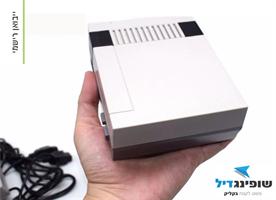 קונסולת משחקים מגאסון כולל 600 משחקים - דגם פרימיום HD