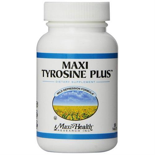 -- קומפלקס טירוזין / פנילאלנין -- 50 טבליות, Maxi Health