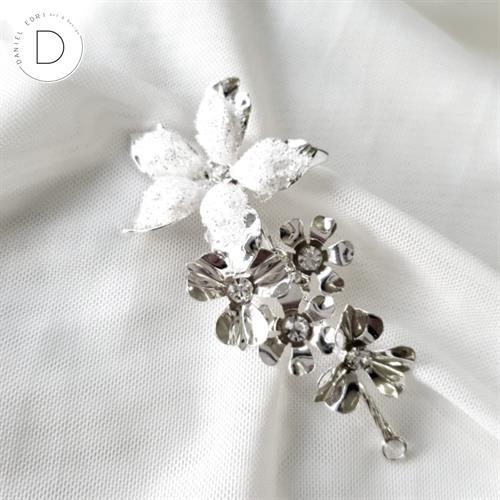 סיכת פרחים- עדן