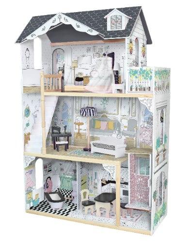 בית בובות מעץ לילדים - נעמה