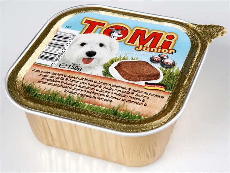 TOMI מעדן פטה עוף לגורים