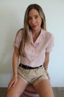 חולצת פונפון ורודה