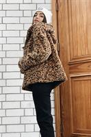 מעיל פלאפי מנומר ריהאנה