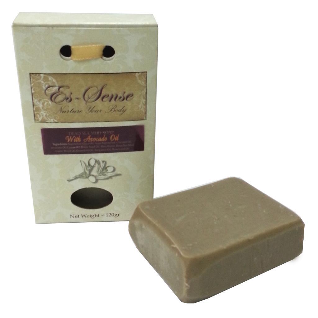 סבון אבוקדו עם בוץ ים המלח