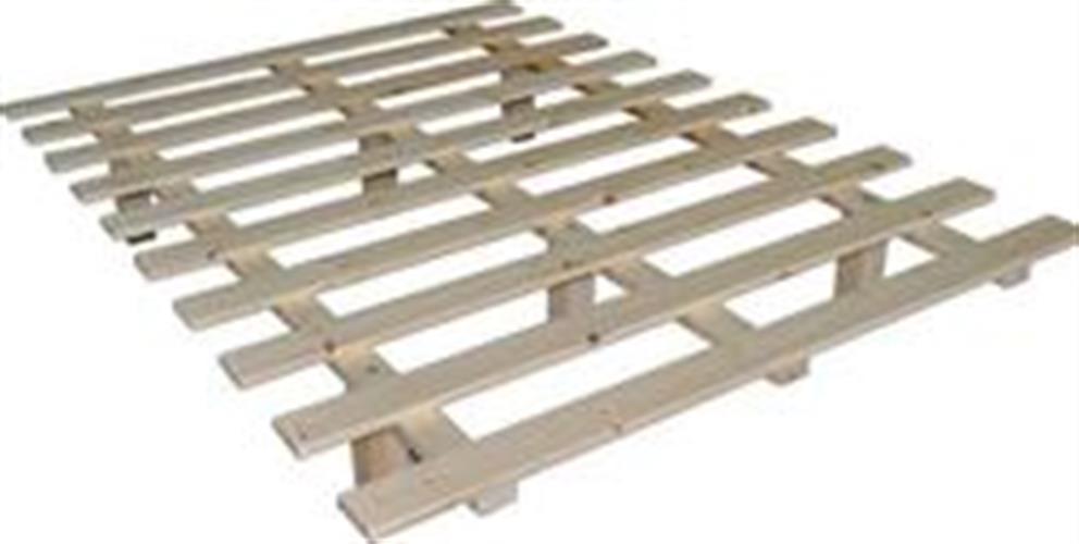 בסיס מיטה מעץ מלא ללא מסגרת
