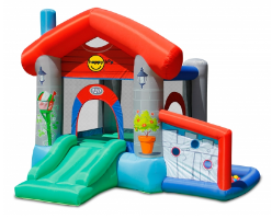 הבית השמח עם עמדת כדורים - happy hop - קפיץ קפוץ