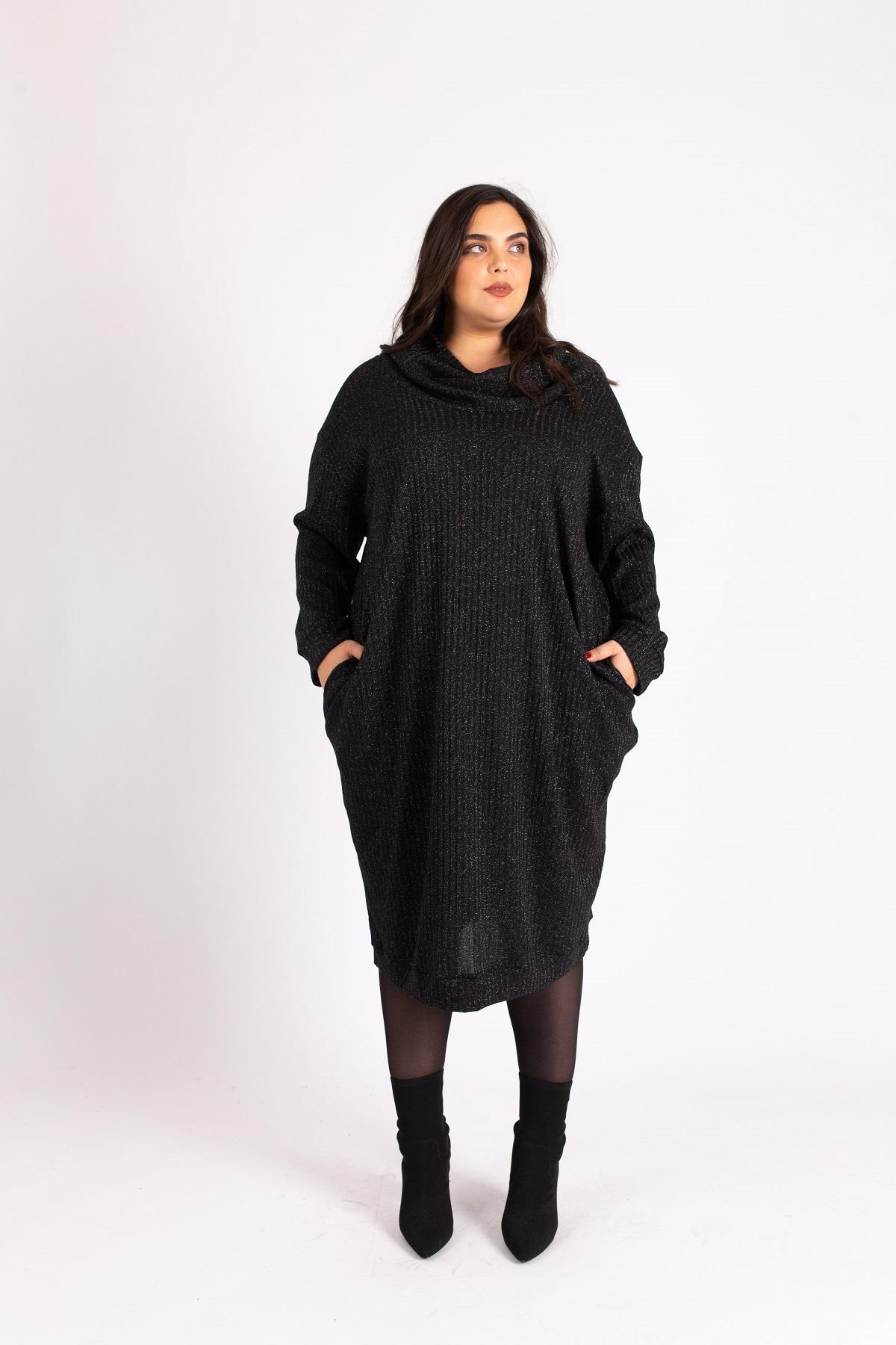 שמלת ריב גולף שחור