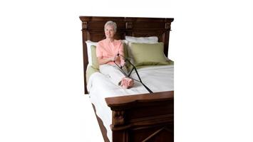 סולם חבלים לקימה מהמיטה