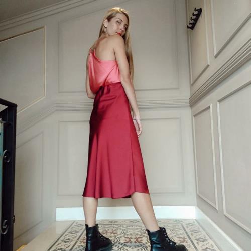 חצאית JENNY - יין