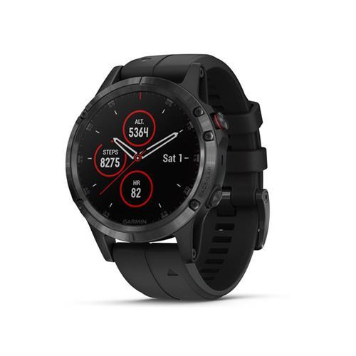 שעון דופק גרמין Garmin Fenix 5 Plus Sapphire Black