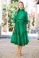 שמלת מעצבים שילוב חגורה