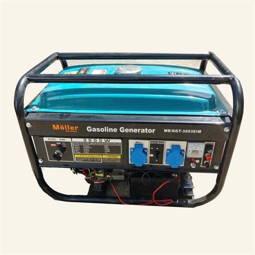 גנרטור מנוע בנזין  6000W התנעה חשמלית חד-פאזי