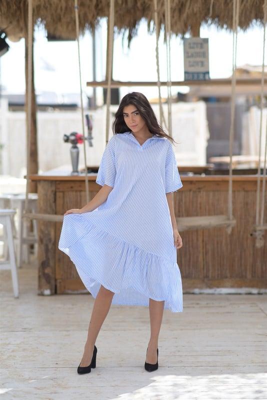 שמלת פסים מושית