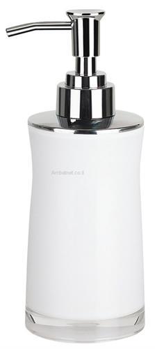 דיספנסר מעוצב לסבון נוזלי לבן - Sydney