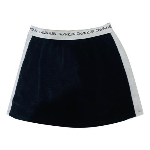 חצאית מגבת שחור CALVIN KLEIN בנות - מידות 8 עד 16