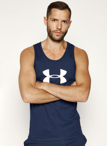 גופיית אנדר ארמור Under Armour Men's Sportstyle Logo Tank