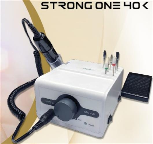 מכונת שיוף סטרונג One 40+מנורת סאן 1 מתנה