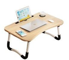 שולחן מתקפל למחשב נייד עץ