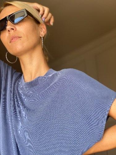 חולצת NAM - כחול ג'ינס