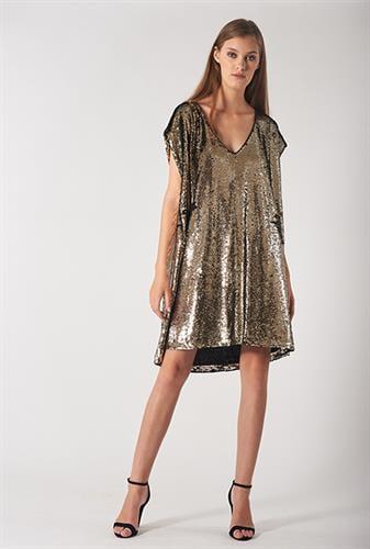 שמלת מירנדה שחורה