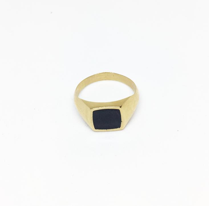 טבעת עומר זהב
