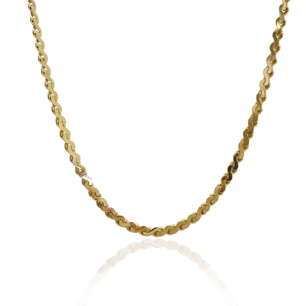 שרשרת זהב לאישה 41 סמ