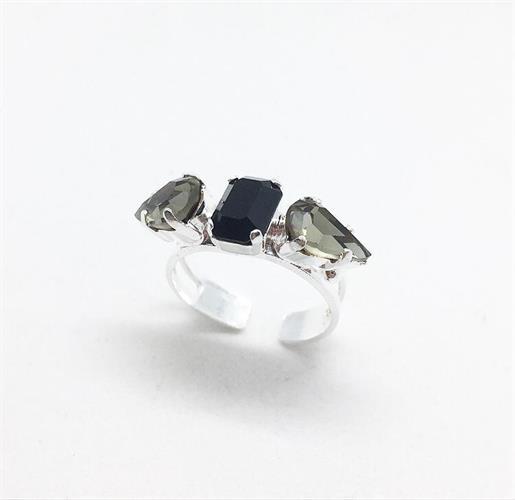 טבעת אודרי כסף