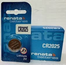 סוללות ליטיום RENATA LITHIUM CR2025 כמות 5 יחידות