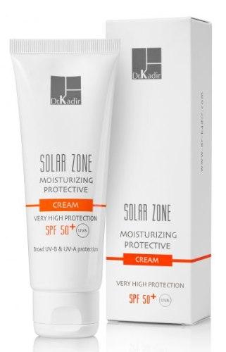 """ד""""ר כדיר סולר זון קרם לחות עם הגנה 50+ - +Dr. Kadir Solar Zone Moisturizing Protective Cream SPF 50"""