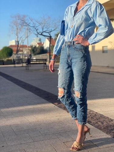 ג'ינס קרעים סול