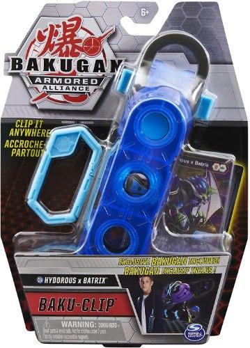 Bakugan Baku-Clip אביזר אחסון עם Hydorous x Batrix
