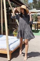 שמלת בוהו אנה אוברסייז