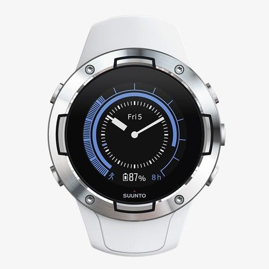 שעון דופק Suunto 5 White