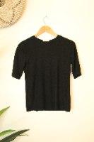 חולצת פרש שחורה
