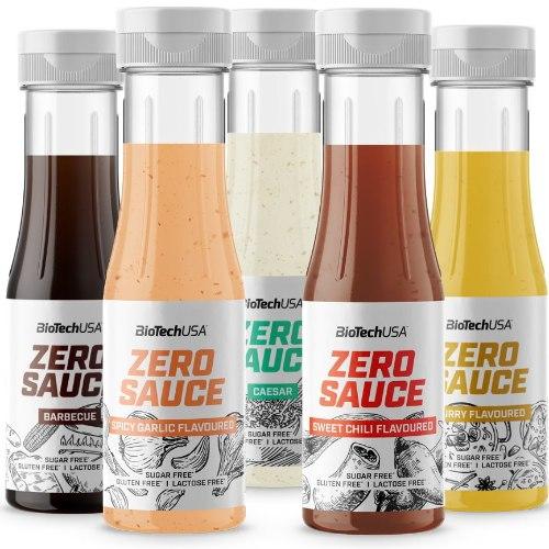 ZERO SAUCE|רטבים משובחים דלים בקלוריות במגוון טעמים ללא שומן