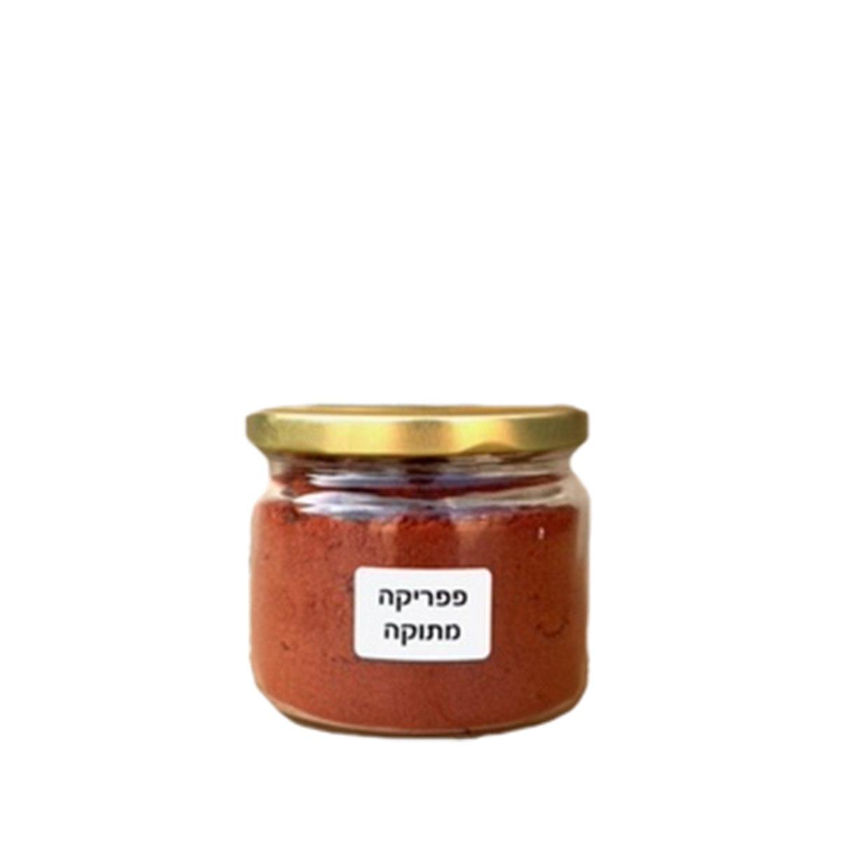 צנצנת פפריקה מתוקה 100 גרם