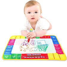 שטיחון ציורים לילדים עם צבעי מים