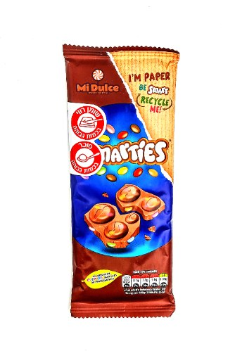 Smarties Chocolate  Bar