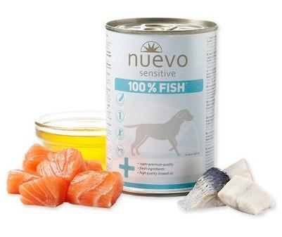 נואבו סנסטיב 100% דגים 400 גרם