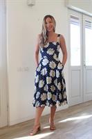 שמלת ברנדי כחולה