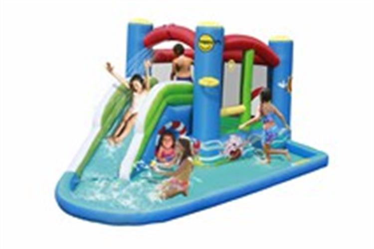 מתקן מגלשת מים ספלאש הפי הופ - 9381 - Splash Water Happy Hop