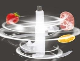 מטחנת בשר חשמלית משולבת מעבד מזון